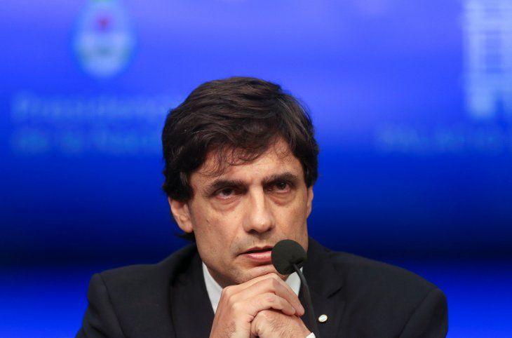 Foto de archivo. El ministro de Hacienda de Argentina