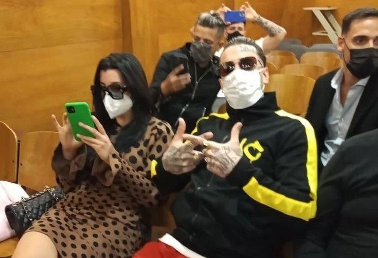 Charlotte y Axel Caniggia condenados a prisión por lesiones y amenazas