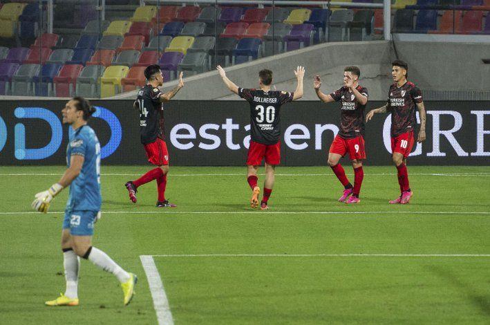 Súper confiado: River ganó en Santiago, sigue cerca y se viene Boca