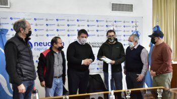 Gaido se reunió con las nuevas autoridades de veteranos de Malvinas