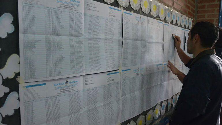 ¿En qué escuela voto? Consultá el padrón para las PASO
