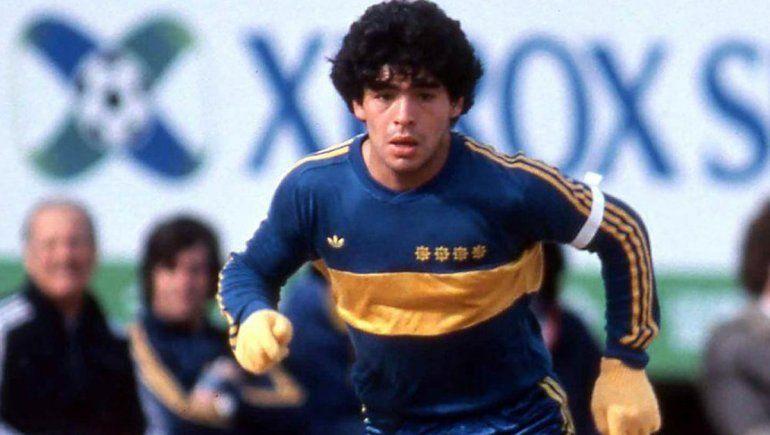 Maradona tenía el corazón azul y oro