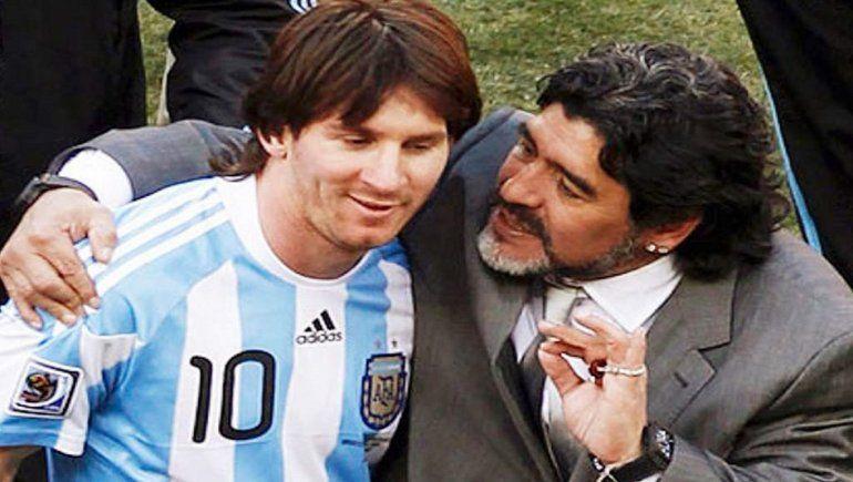 Maradona habló sobre el problema entre Messi y el Barcelona