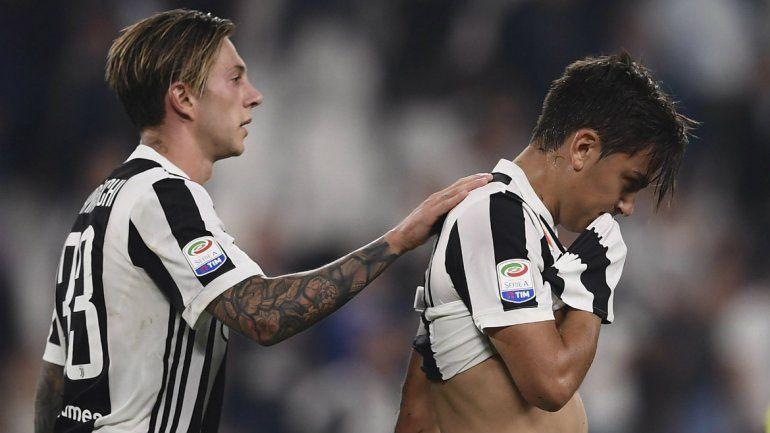 Dybala lo tuvo para empatar pero la Juve terminó perdiendo