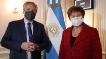 georgieva: nuestro objetivo es ayudar a la argentina a construir un futuro economico
