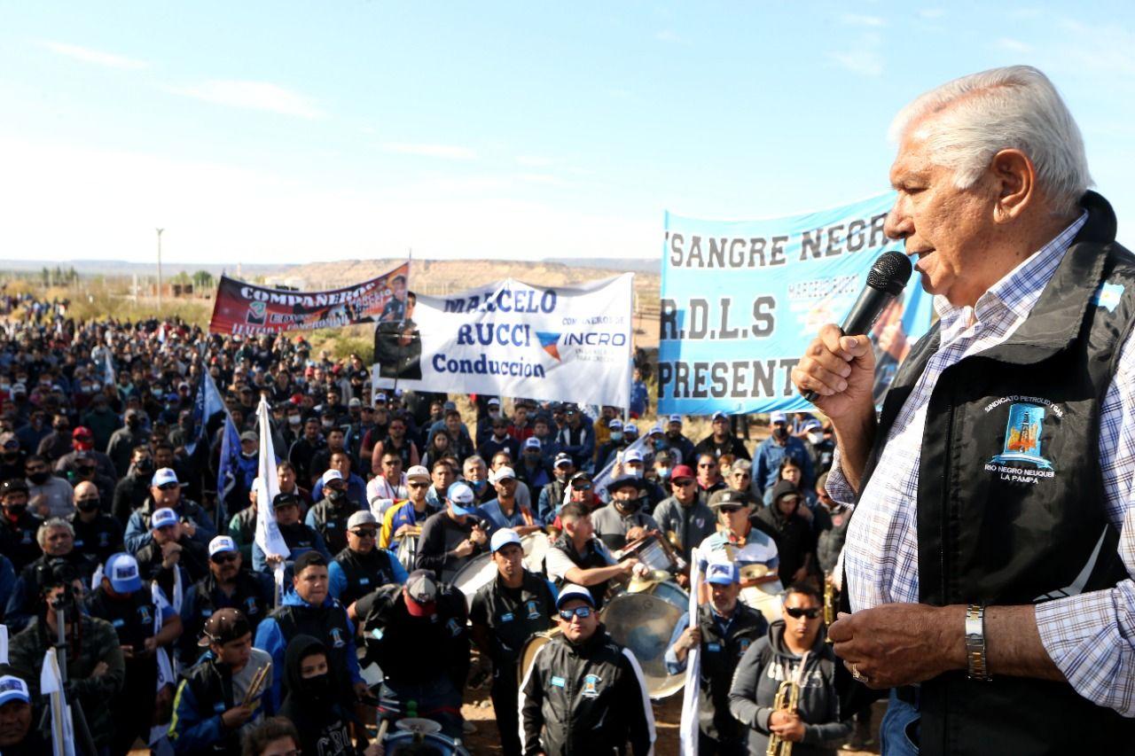 Pereyra respalda la nueva ley de hidrocarburos que impulsa Nación.