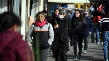 Llegó el frío polar a la región: la mañana arrancó con -5 grados