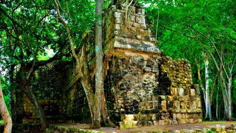 Descubrieron un milenario palacio de la cultura maya