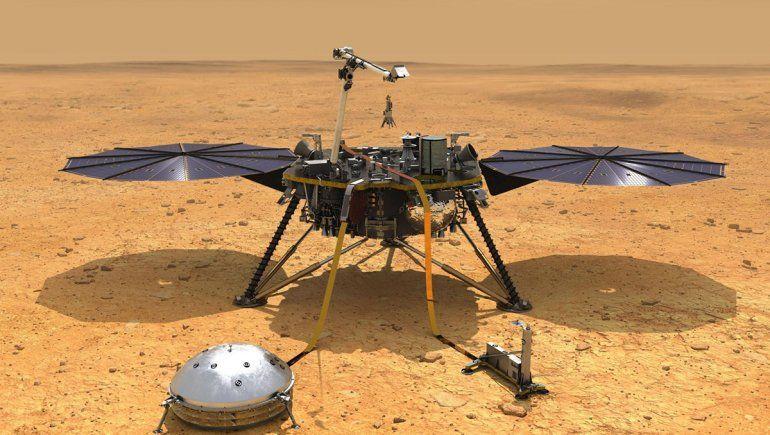Importante revelación de la NASA por el núcleo de Marte