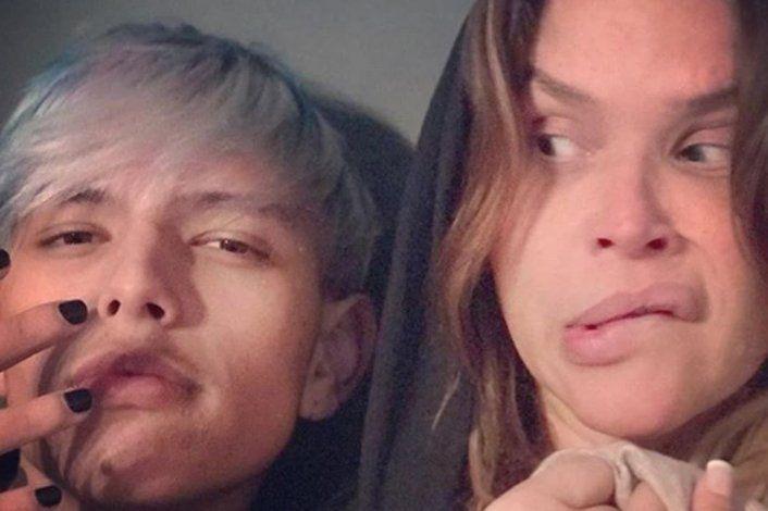 Nazarena Vélez dijo que su hijo decidió quedarse más con el papá