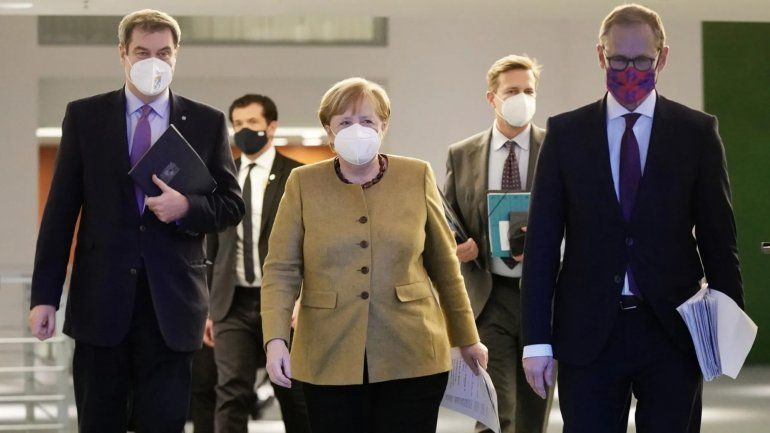 Superpoderes para que Merkel tome decisiones