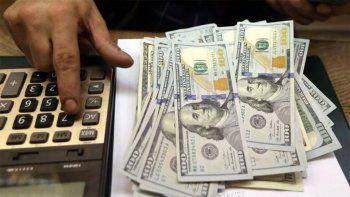 el dolar blue se desploma y baja a 180 pesos