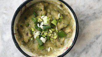 receta facil y clave para el frio: sopa crema de puerro