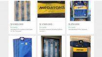 las camisetas firmadas por maradona se venden en cifras millonarias
