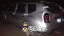 La Policía secuestró la camioneta en la que circulaba el violento y alcoholizado conductor.