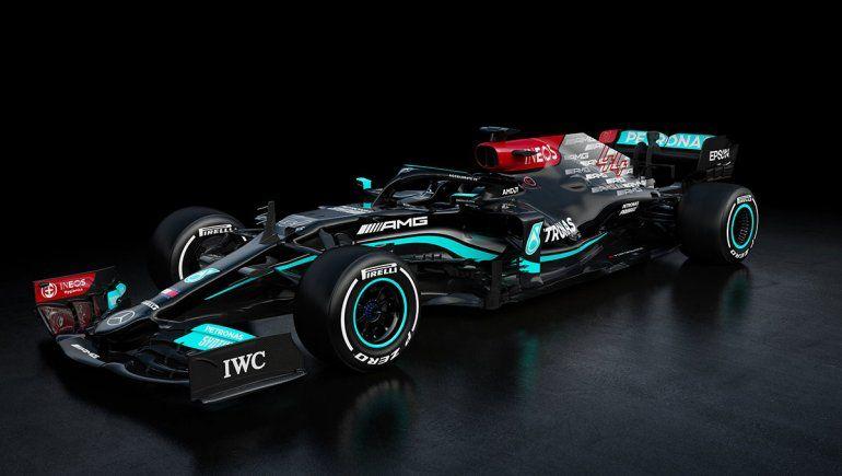 Mercedes mostró en sociedad el monoplaza que utilizará en la temporada 2021 de la Fórmula 1.