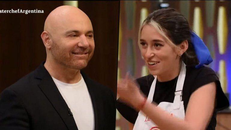 Leticia Siciliani en Master Chef.