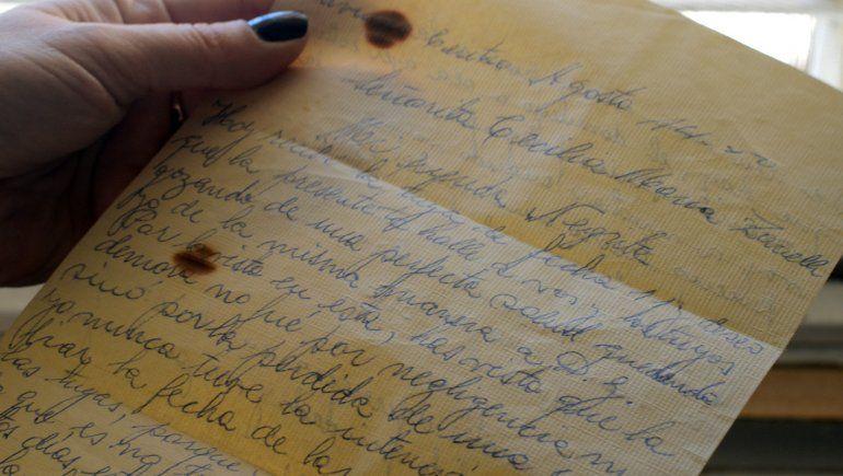 La carta que se quedó en el tiempo.