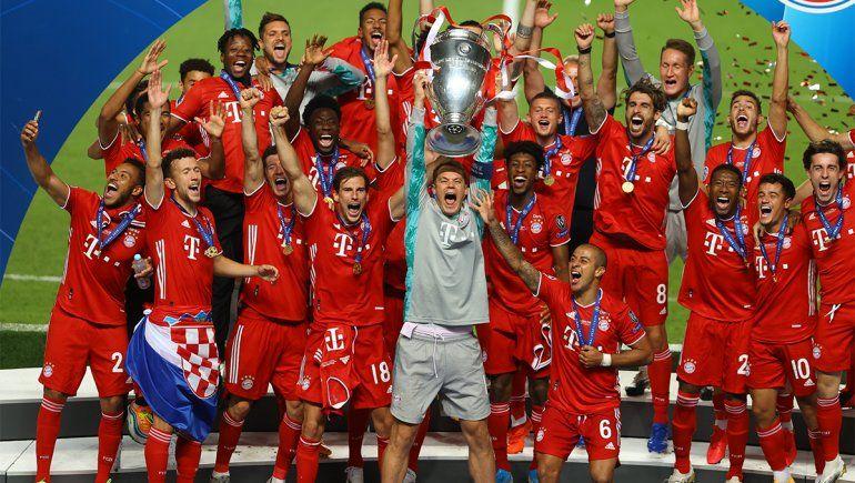Munich, de la cabeza: el Bayern le ganó al PSG y es campeón de Europa