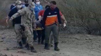 isla jordan: salio a caminar, se lesiono y debio ser rescatada