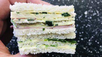 clasico para hacer en casa: sandwich triple de miga