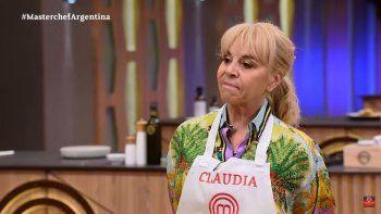 El emotivo regreso de Claudia a Masterchef, ¿con homenaje a Maradona?