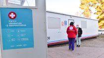 pae sumo un trailer de testeos al hospital de san patricio del chanar
