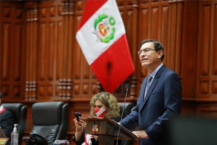 Martín Vizcarra, ex presidente de Perú.