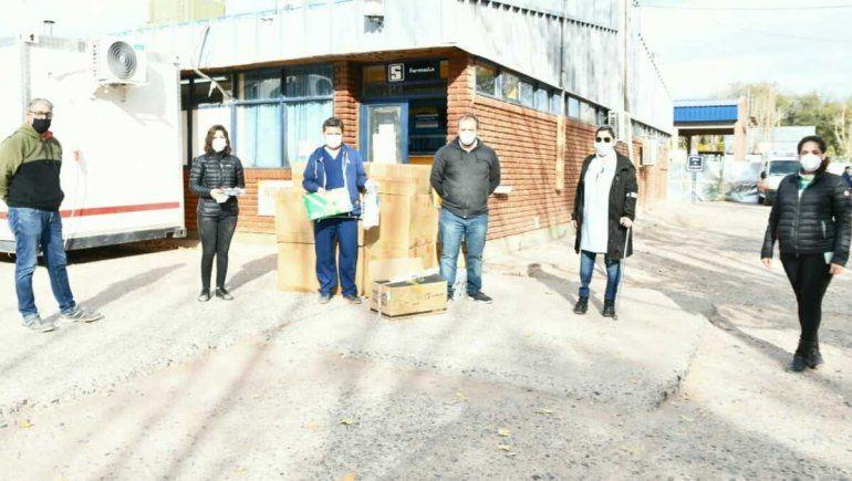 Donaron elementos de bioseguridad al Hospital de Rincón