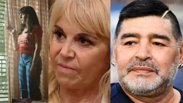 Claudia furiosa con la serie de Diego: Están ofreciéndole plata a mis amigos