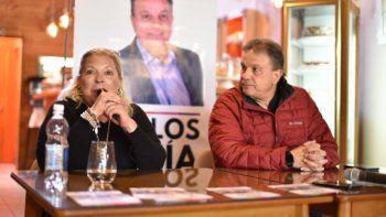 Eguía y Carrio en La Angostura: Vamos a sacar al kirchnerismo del Congreso