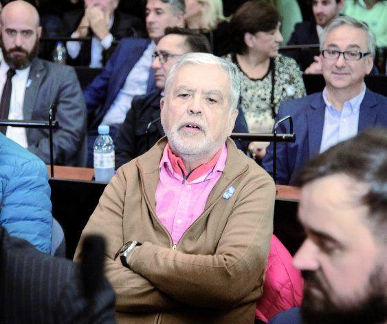 El ex ministro de Planificación Federal de Cristina, Julio De Vido, también fue sobreseído por este causa.