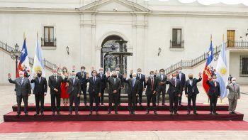 Alberto Fernández cierra la visita a Chile con agenda recargada