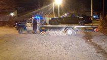 borracho al volante: circulaba en un bmw, se resistio y termino detenido