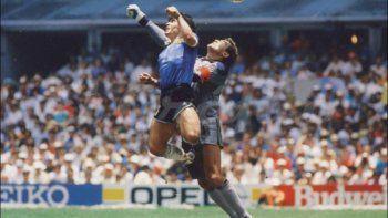 La mano de Dios es uno de los momentos más recordados de la carrera de Maradona
