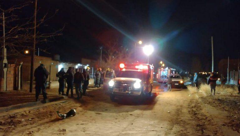 Trasladaron a Buenos Aires al nene quemado en Cutral Co
