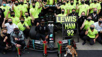 Lewis Hamilton hizo referencia al record que consiguió luego de ganar el Gran Premio de Portugal de Fórmula 1.