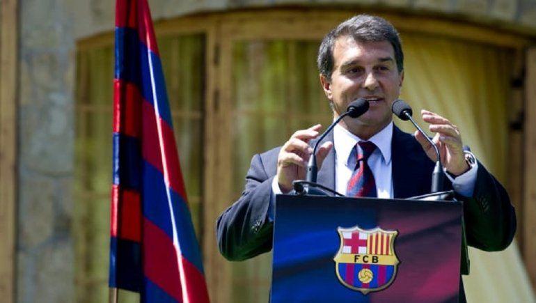 Laporta y su principal objetivo en caso de que ganara las elecciones del Barcelona: quedarse con Messi.