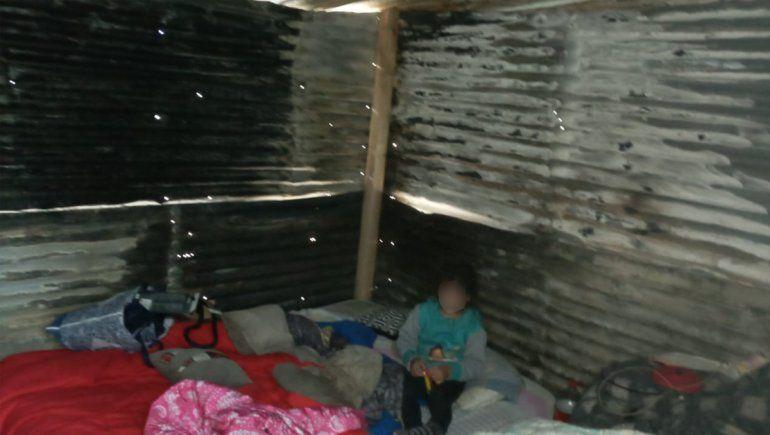 Una familia necesita ayuda tras quedarse en la calle por un incendio