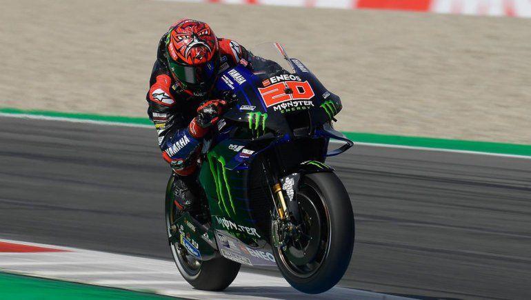 Quartararo venció en la carrera del MotoGP en Assen y junto a Viñales le dieron el 1-2 a Yamaha