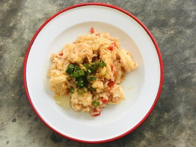 Receta deliciosa: arroz con langostinos