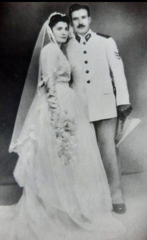Abadie y esposa