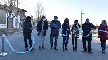 gaido inauguro con gutierrez la primera etapa del corredor poliansky