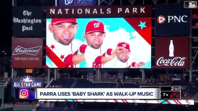 ¡Bailalo! Qué es el Baby Shark que es furor en la final del béisbol yanqui