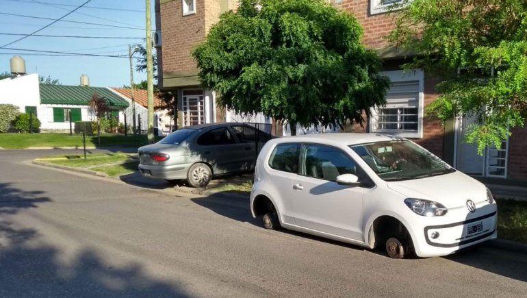 Volvieron los robarruedas: atacaron en Don Bosco II