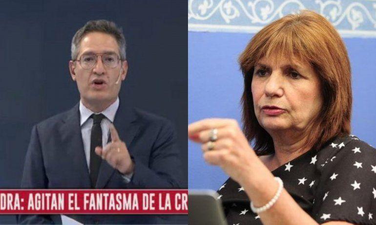 Tomás Méndez volvió a escrachar a Patricia Bullrich