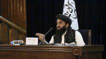 los talibanes conformaron el gobierno afgano