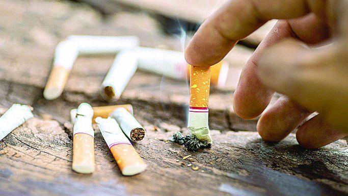 Esas partículas del cigarrillo, al interactuar con gases del ambiente, generan elementos tanto o más tóxicos.