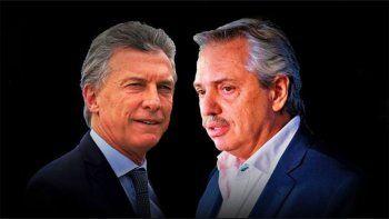 Entre la barbarie y la emoción: los tuits de Alberto Fernandez y Mauricio Macri