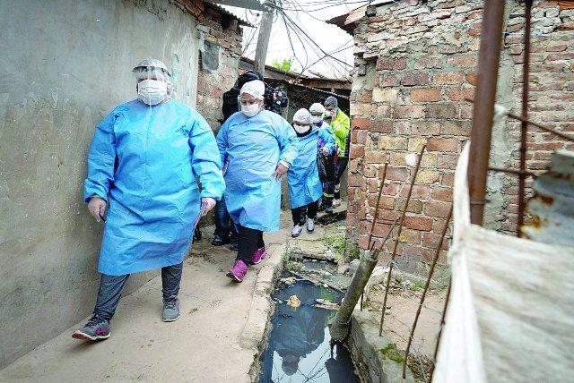 El total de casos confirmados de coronavirus en la Argentina desde que comenzó la pandemia es de 15.419.